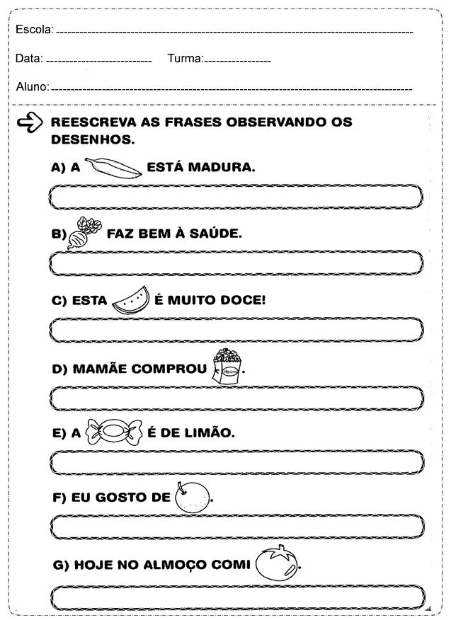 Atividades De Português 2 Ano Só Escola