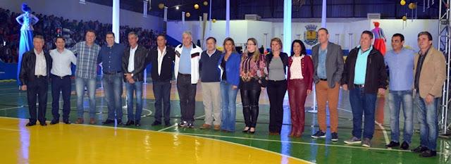 Roncador: 14 prefeitos da região prestigiaram a abertura dos JAPs em Roncador