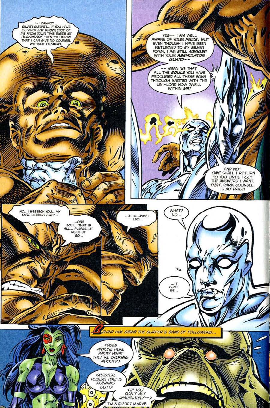 Read online Silver Surfer (1987) comic -  Issue #119 - 4