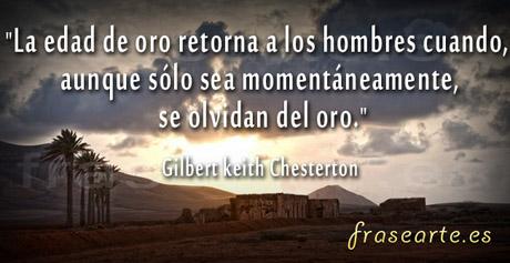 Frases para la vida, Gilbert keith Chesterton
