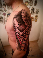 мужская тату
