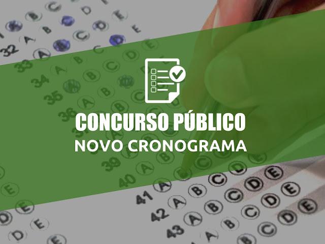 Novo cronograma do concurso da prefeitura de Panelas-PE