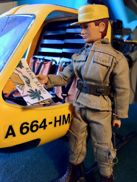 Piloto helicóptero Madelman de guardia