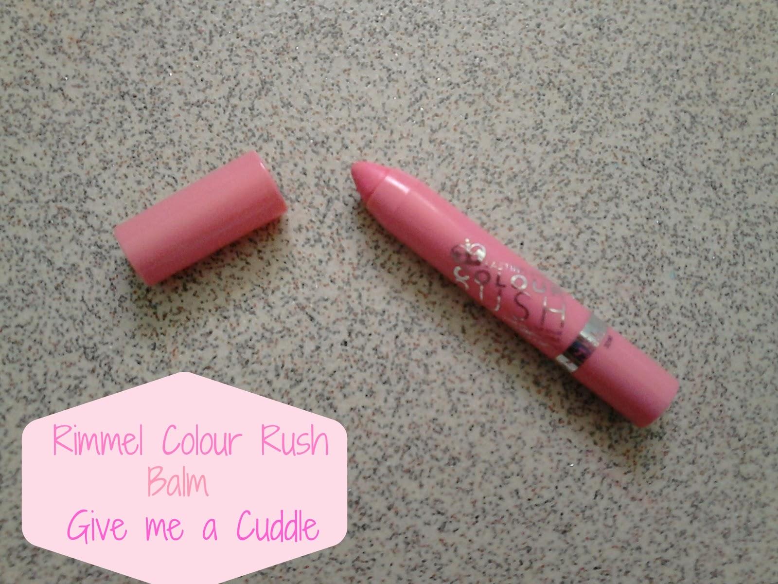 Rimmel Colour Rush Balm Give Me A Cuddle