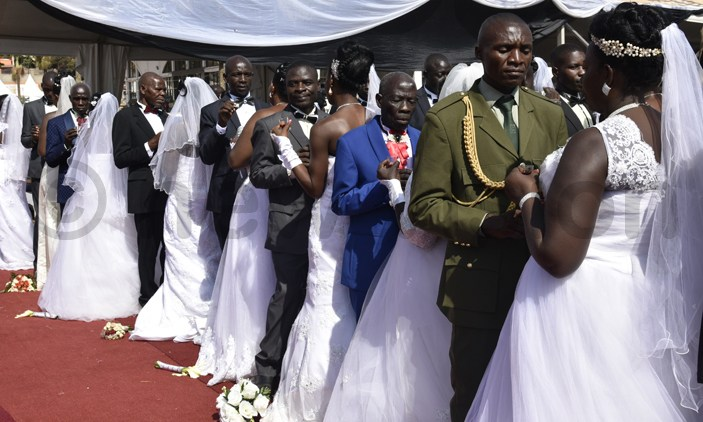 Ugandan Mass wedding