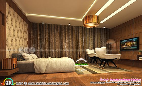 Modern interior designs at Calicut, Kerala