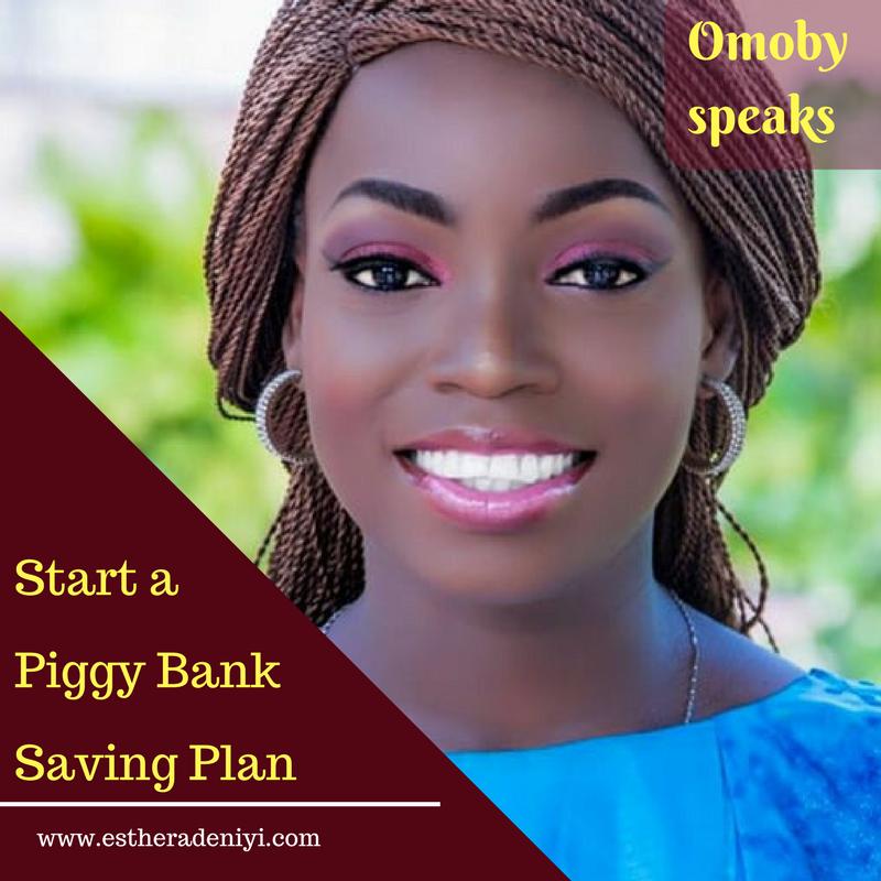 piggy bank saving plan
