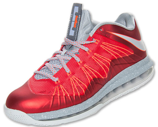 on sale 63587 14215 Game 4 of the 2013 NBA Finals is in the books. As we get ready for game 5  from Miami, a new colorway of the Nike Air Max LeBron X Low is set to  release.