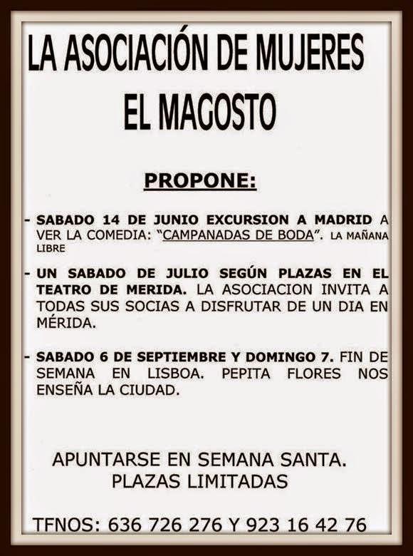 14/Junio. Viaje a Madrid de la Asociación Magosto. Tamames