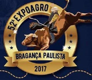 Agenda Shows Expoagro 2017 Bragança Paulista