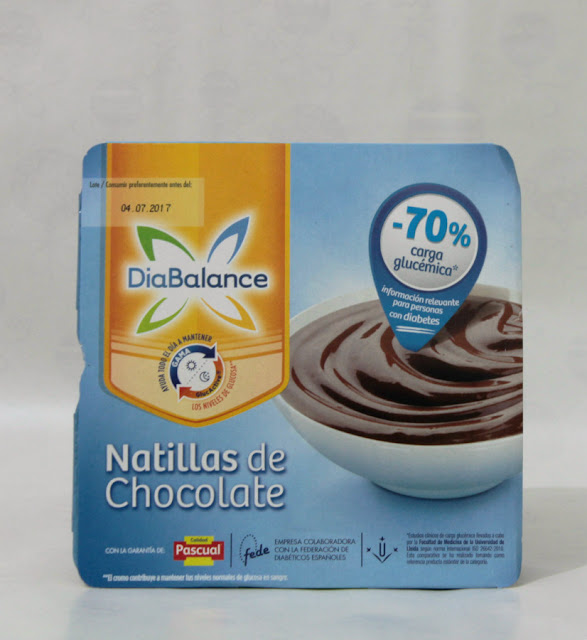 natillas de chocolate diabalance