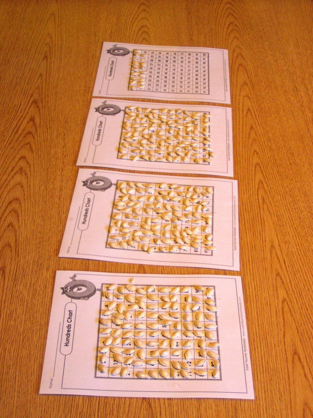 Ms Sara S Preschool Blog Pumpkin Seed Counting