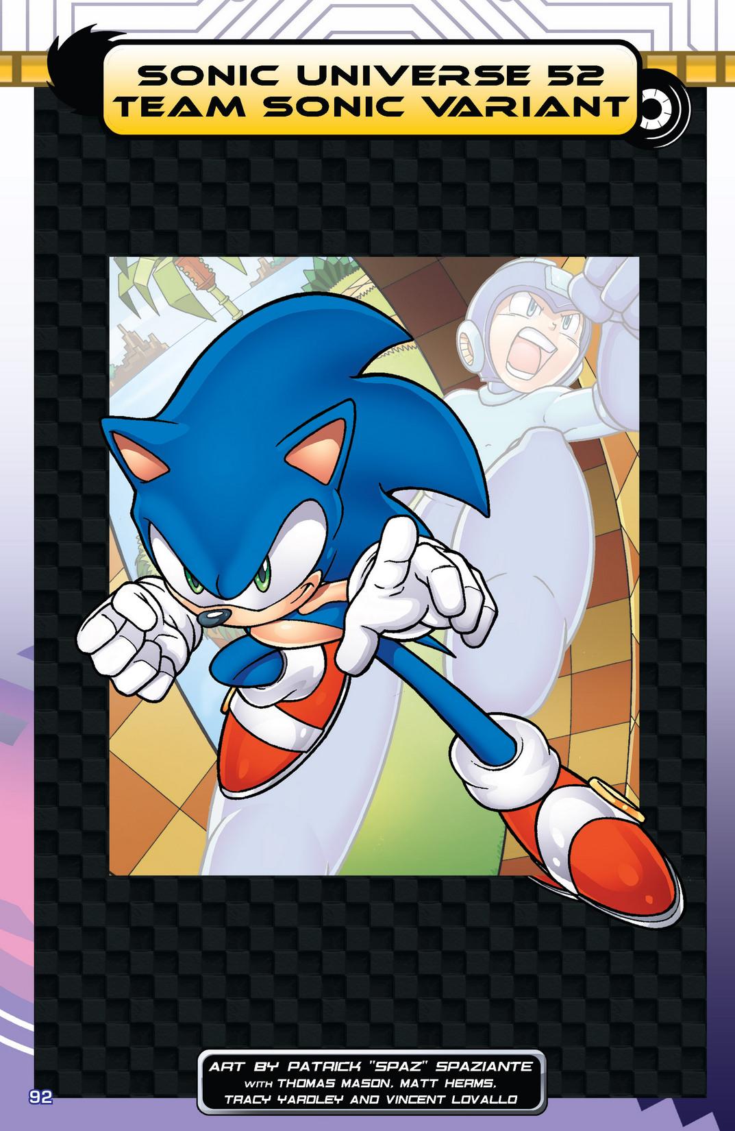 Read online Sonic Mega Man Worlds Collide comic -  Issue # Vol 2 - 110