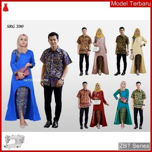 ZBT04809 Kebaya Batik Couple Sarimbit Longcardi 590 BMGShop