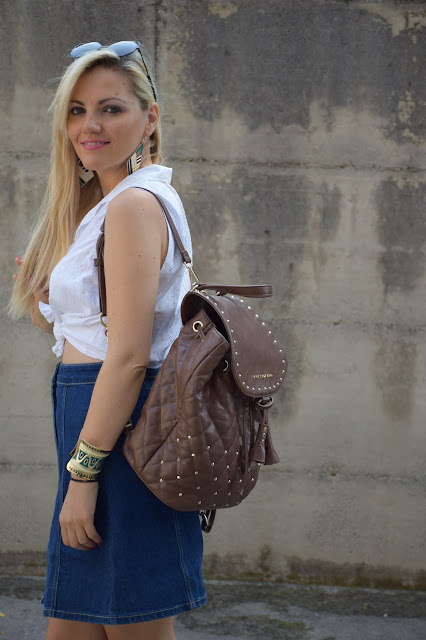 outfit estivi camicia bianca come abbinare la camicia bianca in estate abbinamenti camicia bianca in estate how to wear white shirt in summer mariafelicia magno fashion blogger colorblock by felym outfit luglio 2016 outfit estivi summer outfits july outfits fashion blogger italiane fashion bloggers italy