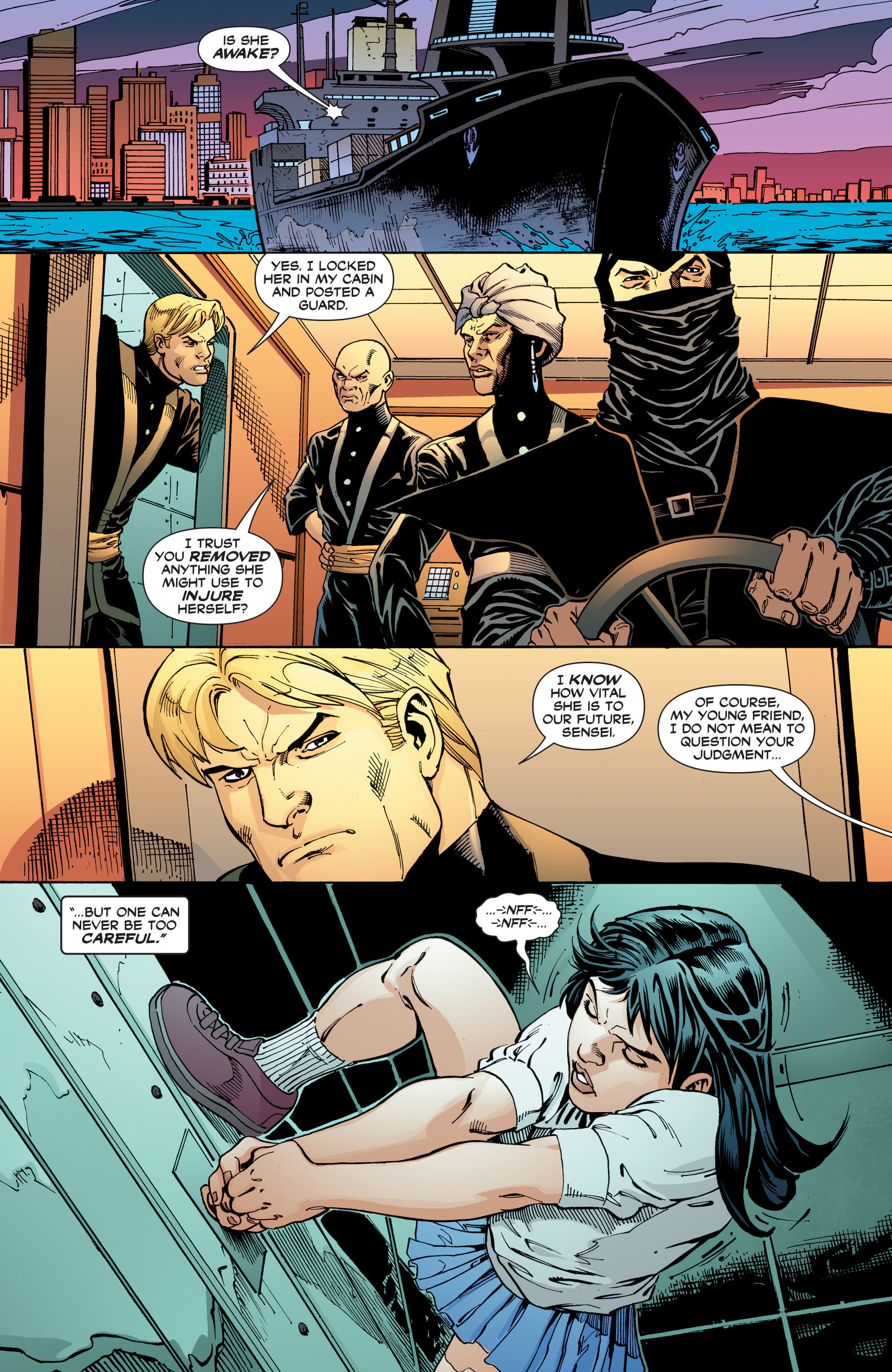 Read online Black Canary (2007) comic -  Issue #3 - 18