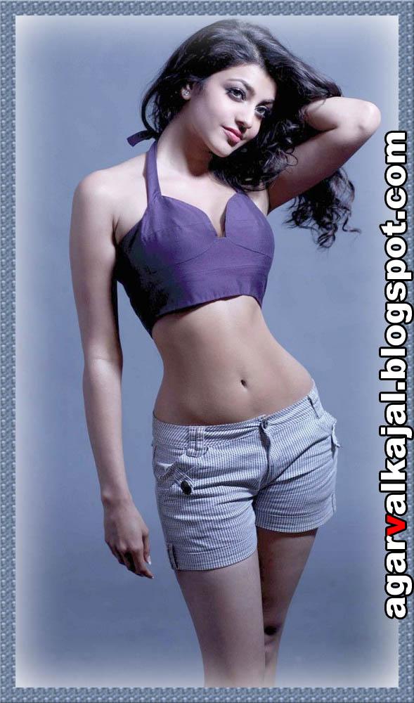 Naan Mahaan Alla Kajal Agarwal Photos: Exposing Navel Part