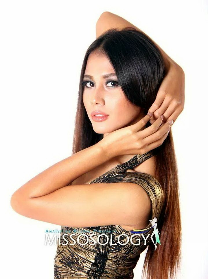 Shar Htut Eaindra in Phillipines to prepare for Miss Universe Competition