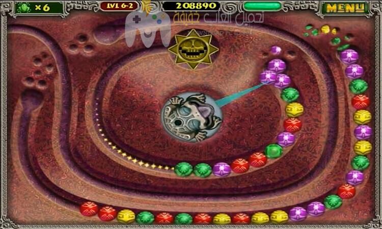 تحميل لعبة زوما القديمة Zuma للكمبيوتر برابط مباشر