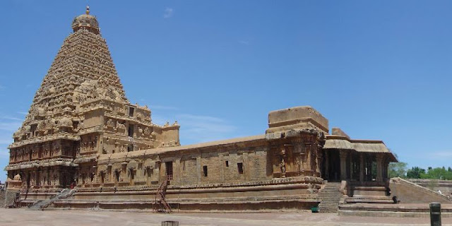Ancient Temple Brihadeshwara Temple, Tanjore, Tamil Nadu