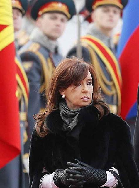 Cristina Kirchner em Moscou