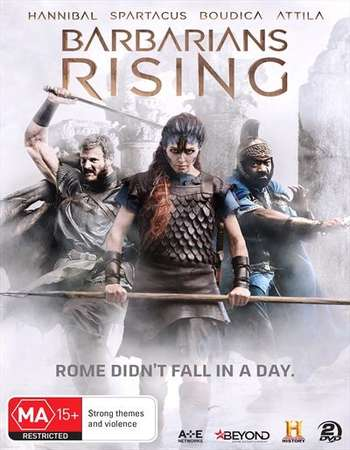Poster Of Barbarians Rising Part 1 Resistance 2016 Hindi Dual Audio 300MB HDTV 480p Free Download Watch Online downloadhub.in