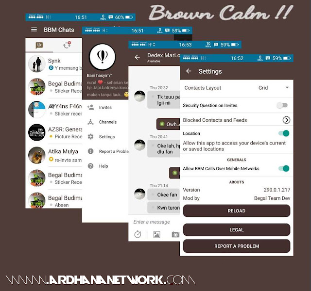 BBM Beta Material Brown Calm