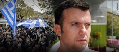 Θράσος από τον «ελληνοδίαιτο» αλλά αλβανόψυχο ηθοποιό Λ. Βασιλείου: «Είναι φασίστες όσοι ήταν στην κηδεία του Κ.Κατσίφα»