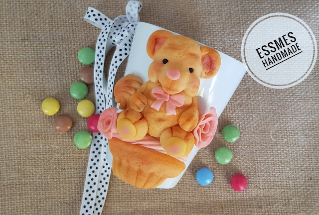 teddy bear polymer clay
