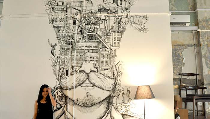 Ilustración, muralismo y más de Elena Yeo