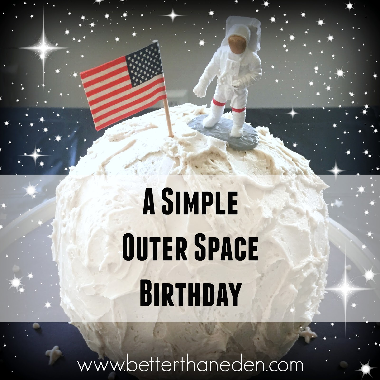 A Simple Outer Space Birthday Mary Haseltine