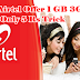 Airtel Offer 1 GB 3G Data Only 5 Rs Trick