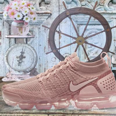 Tênis Nike air rosê