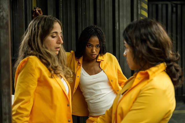 Tere, Rizos y Altagracia en la 4ª Temporada de 'Vis a Vis'