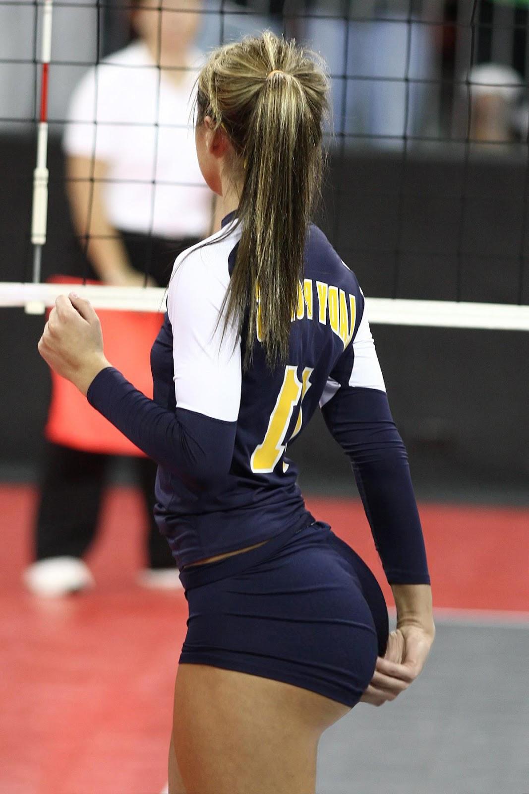 indoor volleyball booty derpfudge