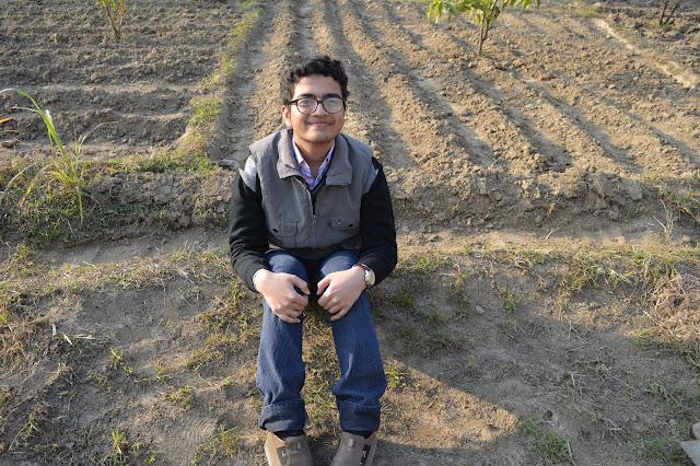 Shiv sangal, blogging, farm, gurukul narsan, ridge.