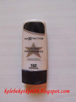 Max Factor Lasting Performance Fondöten