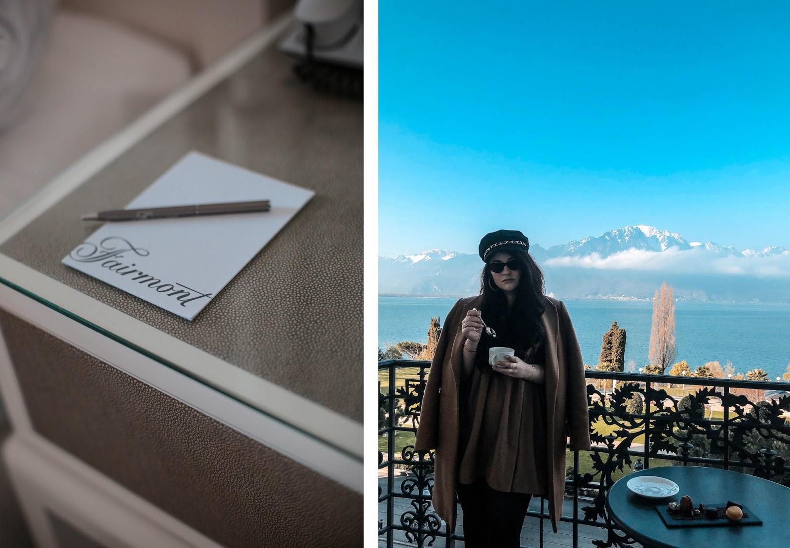 venus is naive Fairmont Palace Montreux hôtel luxe