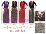 Brukat Skirt + Top SOLD OUT