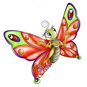 trabalenguas cortos de mariposa