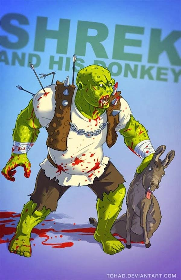Shrek BADASS Tohad