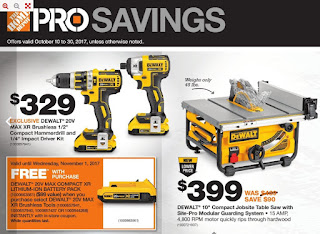 "Home Depot : Exclusive Dewalt 20V Max XR Brushless 1/2"" compact hammerdrill +more"