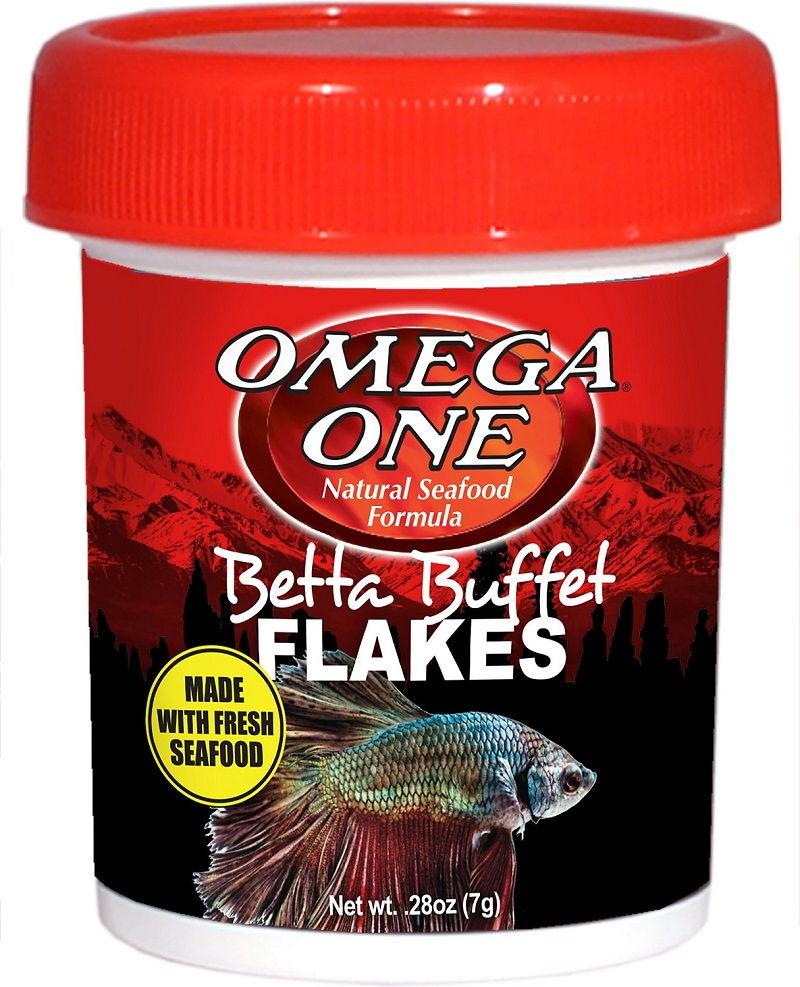 Betta Fish Food Pellets or Flakes Image