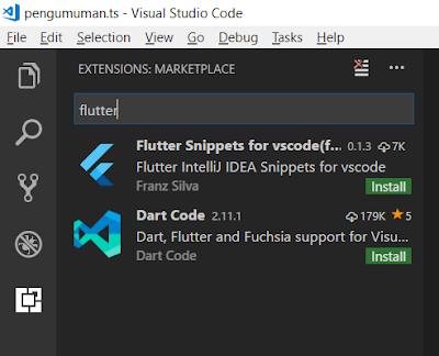 Rahmat Siswanto - Flutter VSCode Extension