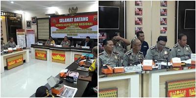 Hadapi Pilkada 2018, Kompolnas Sambangi Polda Lampung