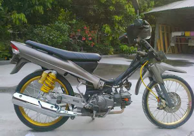 Modifikasi Motor Crypton