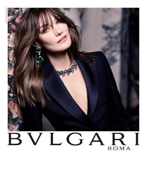 Carla Bruni Stars In Bulgari's FW15 Campaign!