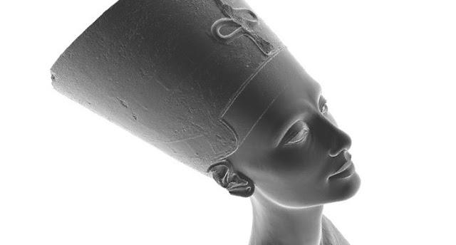 La copia clandestina del busto de Nefertiti lista para imprimir en 3D