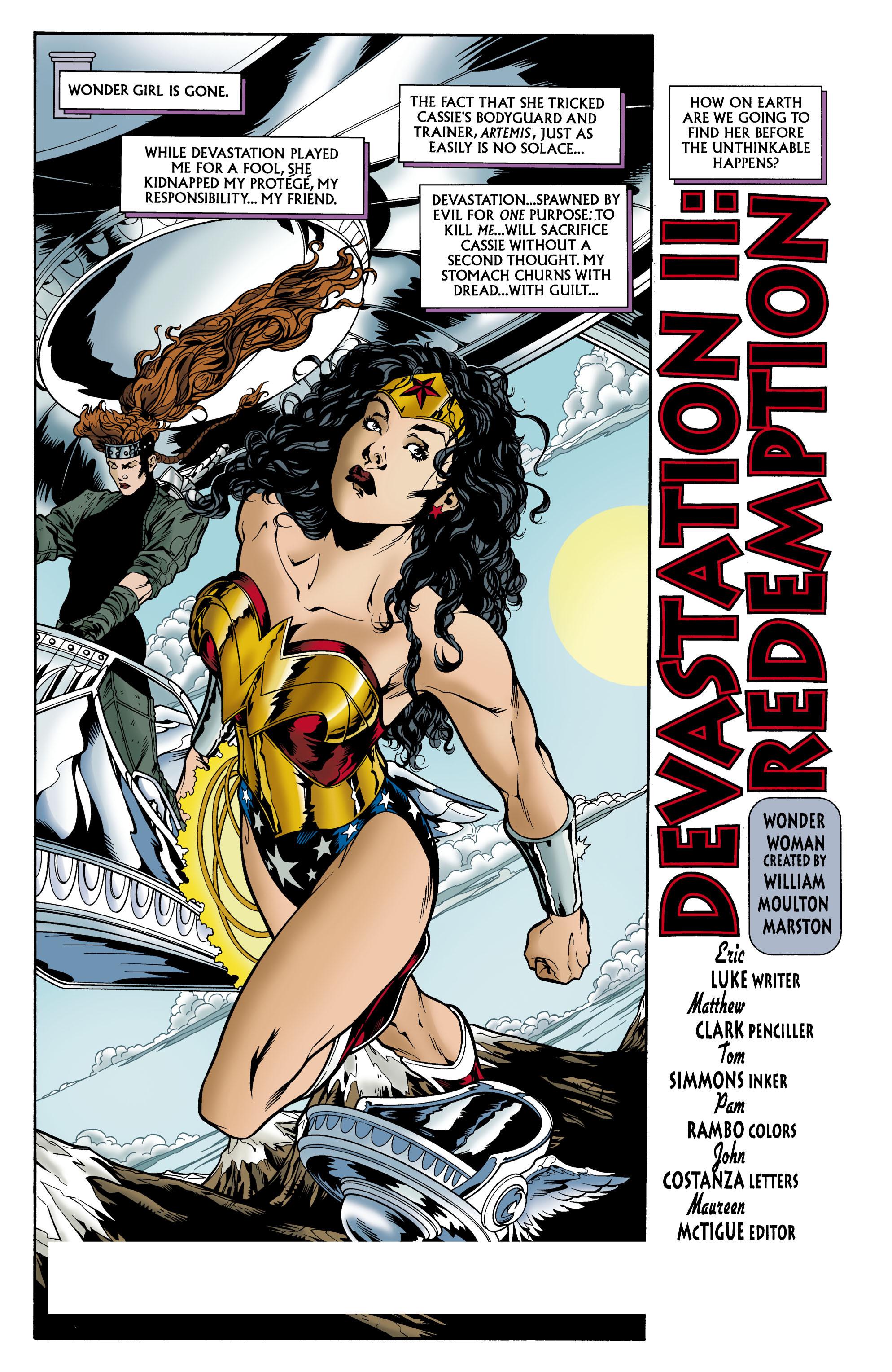 Read online Wonder Woman (1987) comic -  Issue #157 - 2