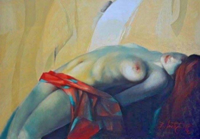 Сербский художник. Boro Ivetic